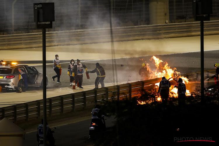 Na Romain Grosjean maken nu ook Belgen het mee: wagen in brand maar zelf ongedeerd