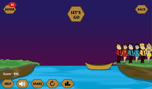 River Crossing IQ - IQ Test 1.4.4 screenshots 8