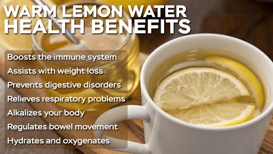 Reasons to Drink Lemon Water - náhled