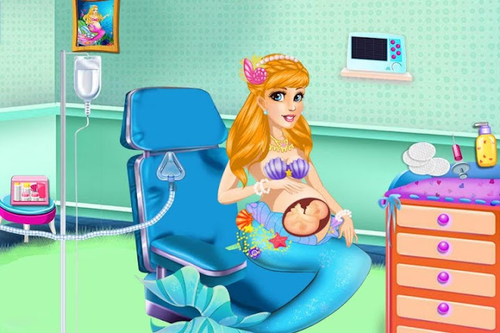 android Mermaid Mommy's New Baby-Care Screenshot 7