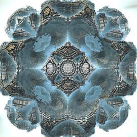 Le bijou by Linda Czerwinski-Scott - Illustration Abstract & Patterns ( abstract art, design, patterns, illustration, fractals )