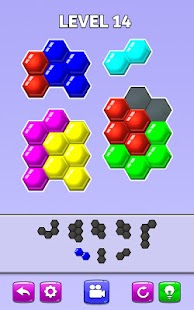 Color Match Puzzle - Fill the Hexa Board Screenshot