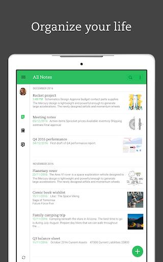 Evernote – Organizer, Planner, Notebook screenshot 13