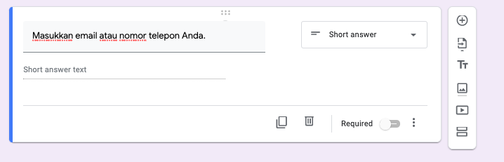 cara membuat google form request more info