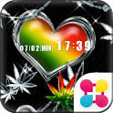 LOVE REGGAE for[+]HOMEきせかえテーマ icon