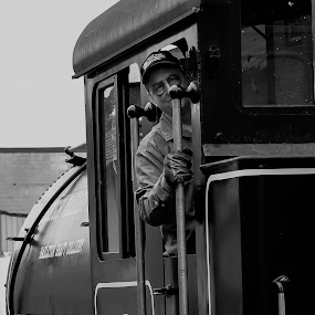 Conductive by Damon Hensley - Transportation Trains ( coal, steaming locomotive, maryland, train, walkersville rail road )