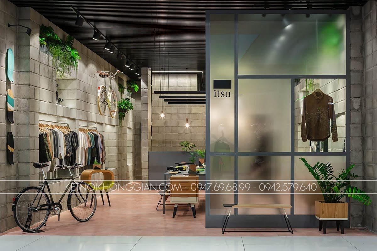 thiết kế shop thời trang Itsu 2