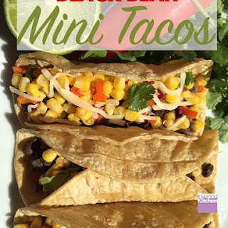 Mini Tacos With Black Beans