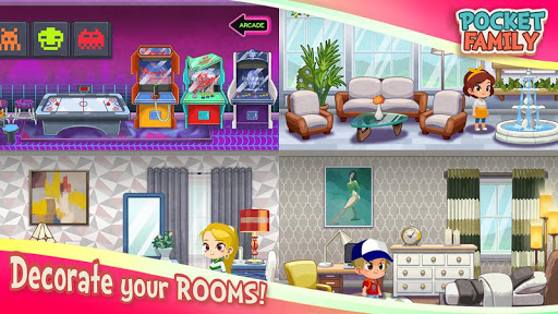 Pocket Family Dreams: Build My Virtual Home 1.1.3.5 screenshots 7