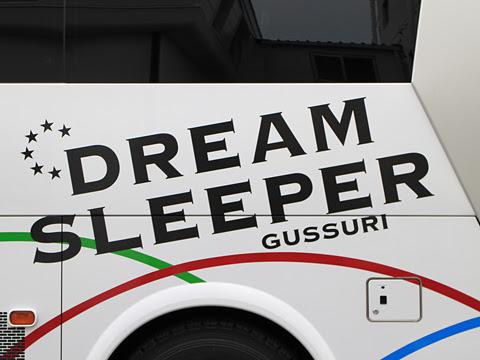 関東バス「ドリームスリーパー東京大阪号」 ・・・1 両備バス門真車庫にて その3