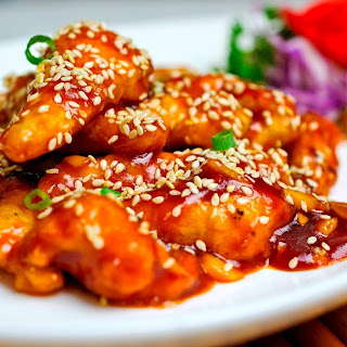 Perfect Sesame Chicken like Benihana's