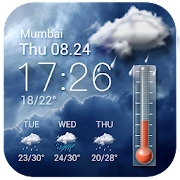 Weather forecast app for Android phone☀️