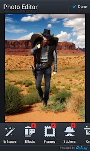 kovboj fotomontáž - náhled