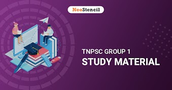 TNPSC Group 1 Study Material 2020 - For Prelims and Mains