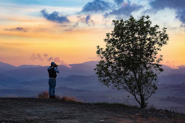 Il tramonto di alagnol