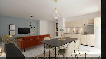 Appartement 3 pièces 62,29 m2