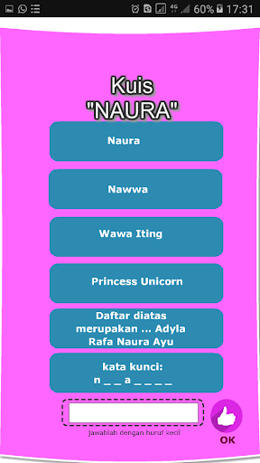 Naura Family Quiz 1.0 screenshots 2