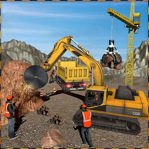 Stone Crusher Crane Driver: Off Road Construction