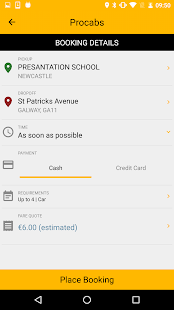 Procabs- screenshot thumbnail