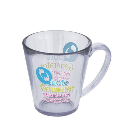 Colourful Plastic Mugs