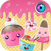 Cute Stickers for Photos - Kawaii Photo Editor