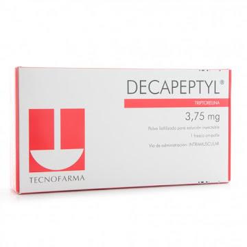 DECAPEPTYL 3.75 MG KIT   CAJA PLEGADIZA+DILUY+JER.TECNOFARM TRIPTORELI