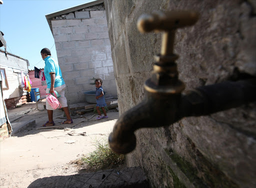 The city of 70,000 residents has faced prolonged water outages and dirty tap water due to poor management of its ageing infrastructure. Now the water supply to the western half of the city, including Rhodes University, is drying up. File photo.