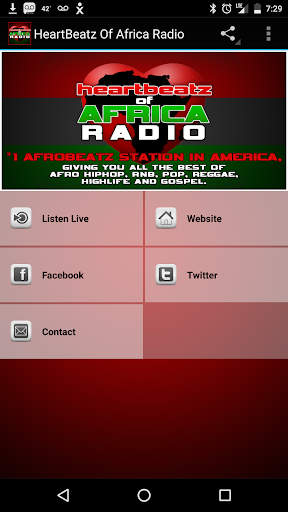 Heartbeatz of Africa Radio  screenshots 1