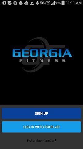 android Georgia Fitness Screenshot 0