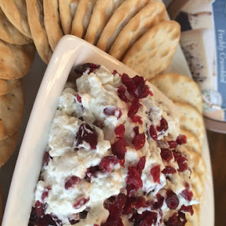 Holiday Cranberry and Blue Cheese Dip