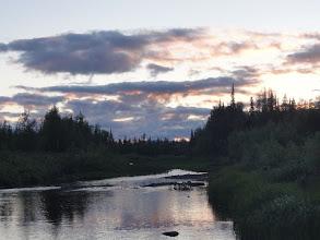 Photo: Закат, Няньворгаю. Красота! +6, комары улетели, светло. У меня ночная смена - пеку лепешки.