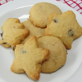 Buttery Chocolate Chip Biscuits.