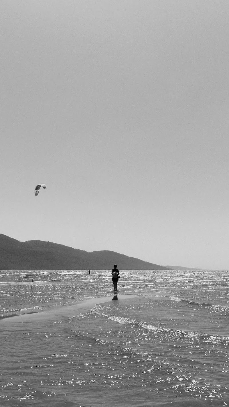 Walk on the water, fly with the wind di Dario Santo