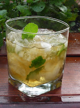 Photo: Classic Mint Julep:  Bourbon, superfine sugar, 'Kentucky Colonel' mint, crushed ice. See p. 326 of The Drunken Botanist.