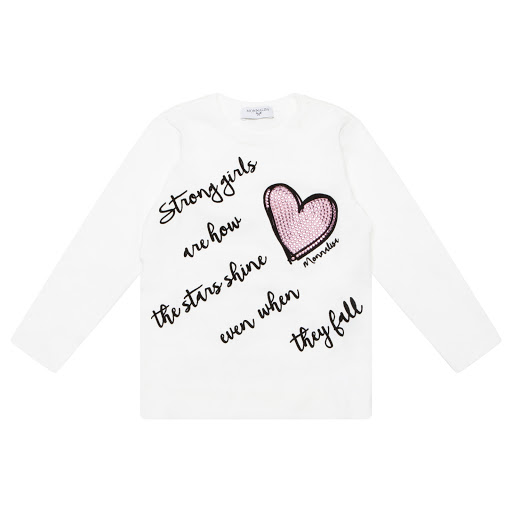Primary image of Monnalisa Girls Long Sleeved Top