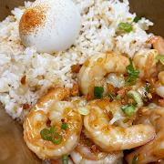 Garlic Shrimp Silog