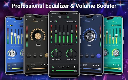 Music Equalizer-Audio-Effekt Screenshot