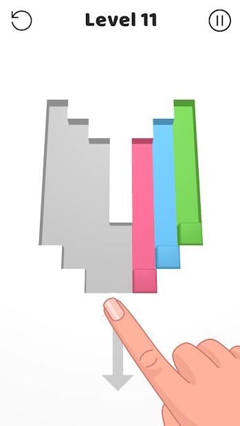 Color Swipe Android App Screenshot