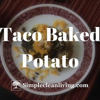 Taco Baked Potato