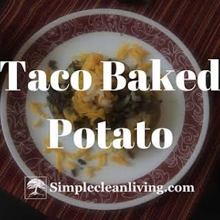 Taco Baked Potato.
