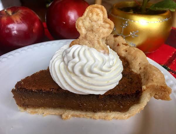 Holiday Gingerbread Chess Pie Recipe