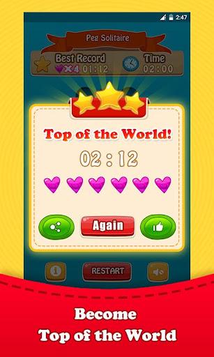 無料棋类游戏Appのペグソリティアボードパズル|記事Game