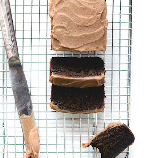"""Chocolate"" Carob Bread with Date Caramel Spread {AIP, paleo}"