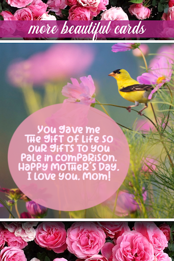 PC u7528 Mothers Day Greeting Cards 1