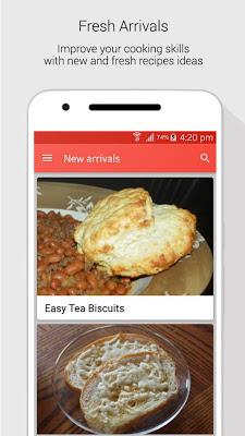 Bread Recipes - screenshot