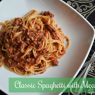 Classic Spaghetti with Meat Sauce