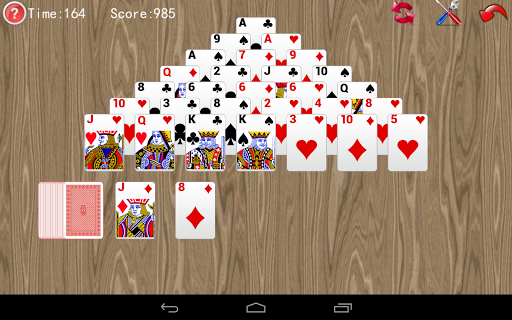 Pyramid Solitaire screenshots 3