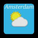 Amsterdam - weer, dieren icon