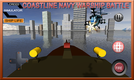 Coastline Navy Warship Battleship Fleet Simulator 1.0.1 2