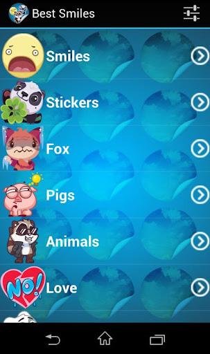 玩社交App|Smiles and Stickers免費|APP試玩